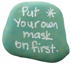 Put your Mask on First Before Helping Others